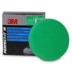 mousse de polissage 3M Perfect-it vert en 150mm