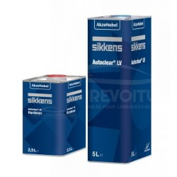 Pack Vernis Sikkens AutoClear LV